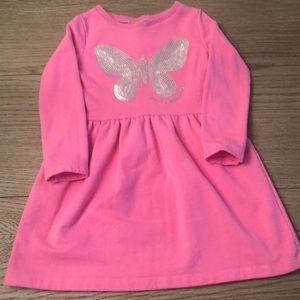 Butterfly Sequin Dress